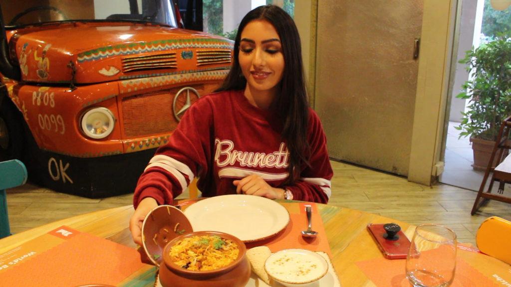 biryani most ordered dish