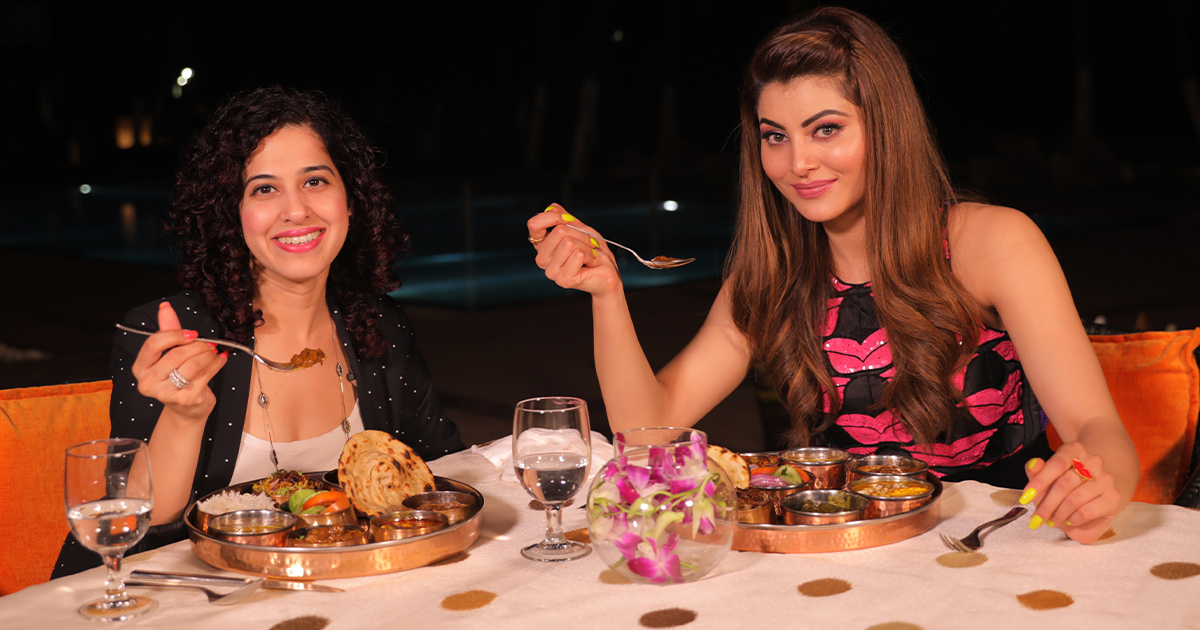 Sunday Brunch With Urvashi Rautela