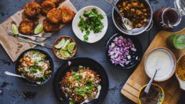 Street food in Abu Dhabi