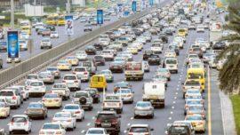 abu dhabi traffic fine list
