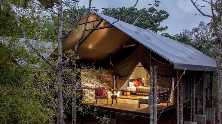 Luxury Resorts New Year's Getaways From Bangalore, kaav safari lodge