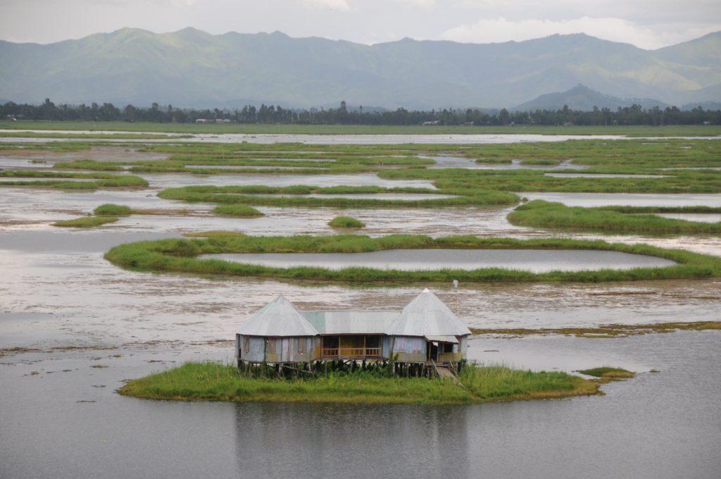 most unique places in india, loktak lake