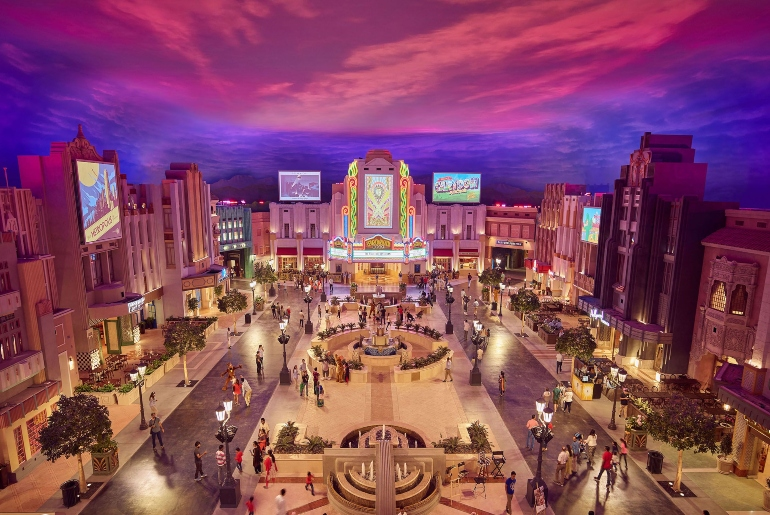 Warner Bros world Abu Dhabi