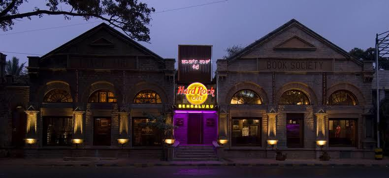 Best Places For New Year Dinner In Bangalore, hard rock cafe