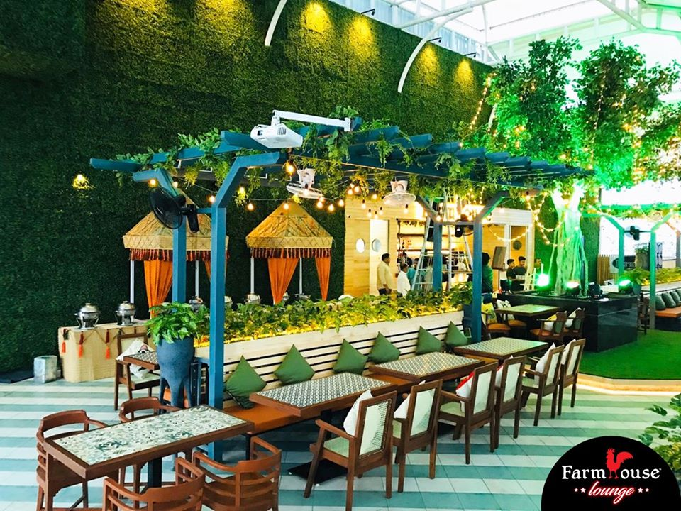 new restaurants in mumbai, farmhouse rooftop lounge