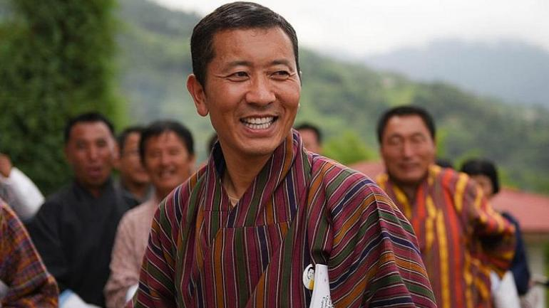 Image result for prime minister bhutan dog