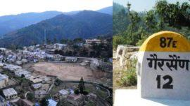 Garsain summer capital uttarakhand