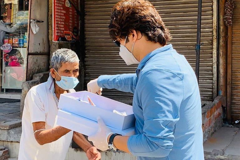 Delhi Based Fashion Designer Makes Khadi Masks For Poor Curly Tales