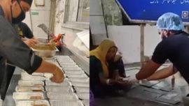 serving meals South Delhi