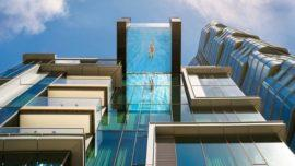 World's Highest Glass-Bottomed Pool The USA