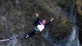 New Zealand Town's Mayor Goes Bungee Jumping To Celebrate Lifting Of Lockdown