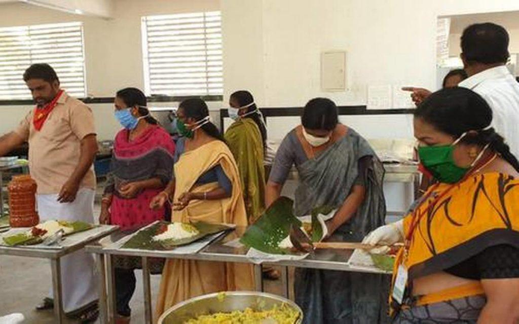 community kitchens to feed poor