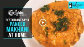 Restaurant Style Paneer Makhani At Home