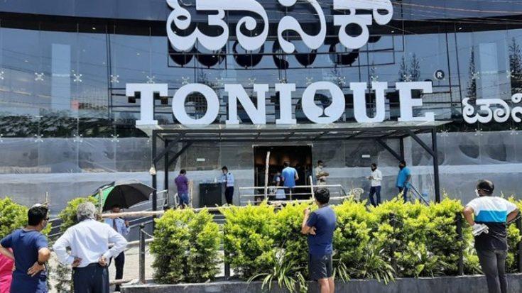 tonique bangalore 4 crores sale