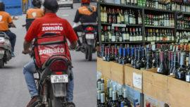 Swiggy Zomato Alcohol delivery Jharkhand