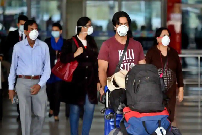 asymptomatic passengers Delhi