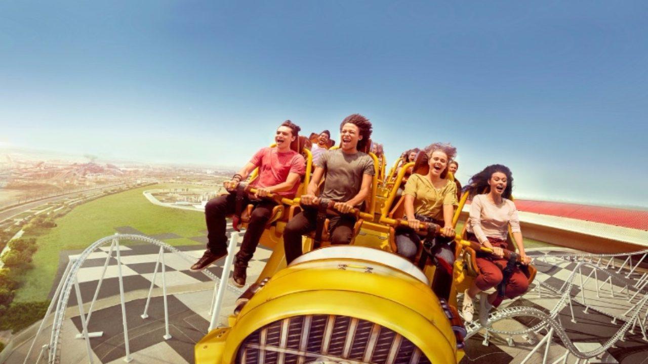 Ferrari World Abu Dhabi Launches Virtual Roller Coaster Curly Tales