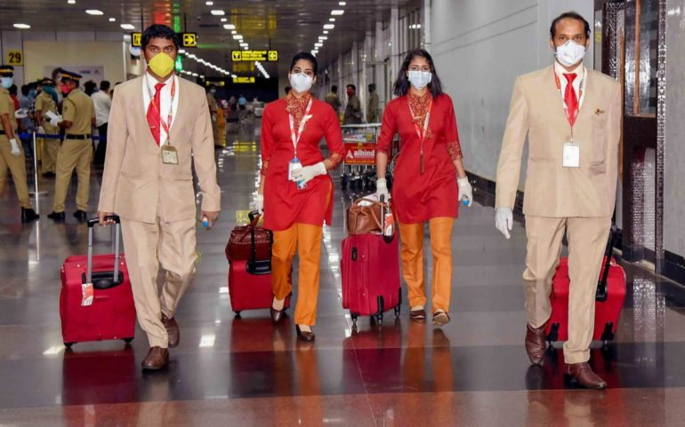 air india asks crew to confirm negtive covid19 test