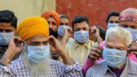 ₹500 Fine Not Wearing Masks In Amritsar