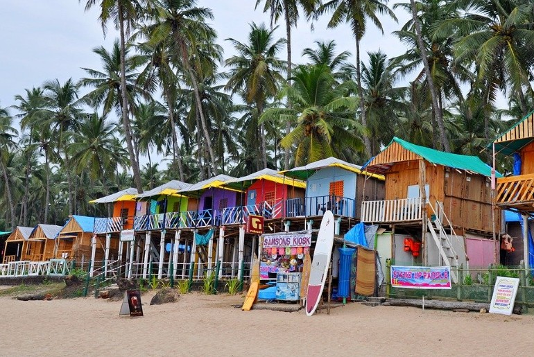 Goa-Style Shacks on maharashtra beaches
