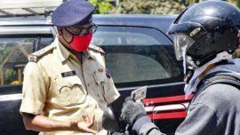 mumbai police 2 km radius seize car