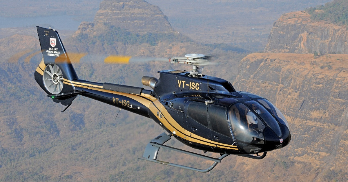 Private Chopper Between Two Cities In India