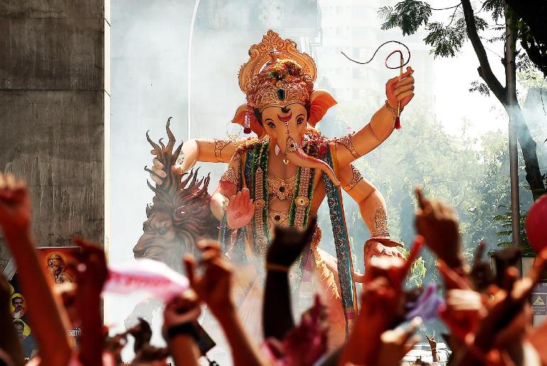Ganpati Immersion Mumbai