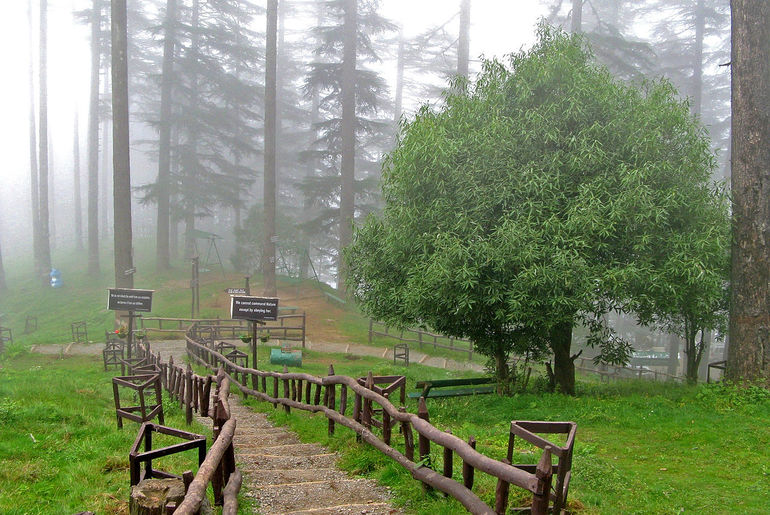 Nainital and Lake District England