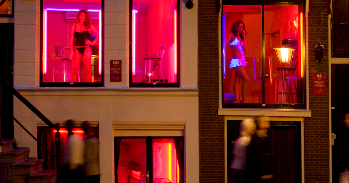 Amsterdams Red Light District Might Soon Be Replaced By