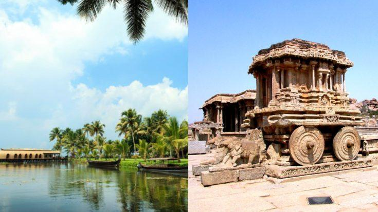 tourist Spots In South India