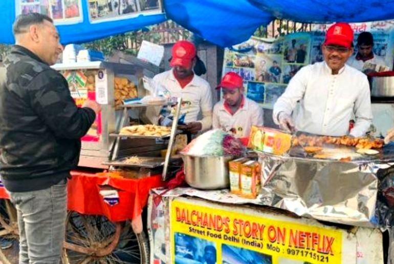delhi street vendors