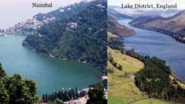 Nainital and Lake District England