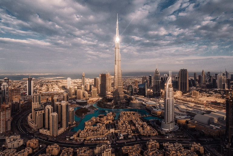 Dubai Pinterested City
