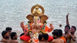 Ganpati Immersion Mumbai