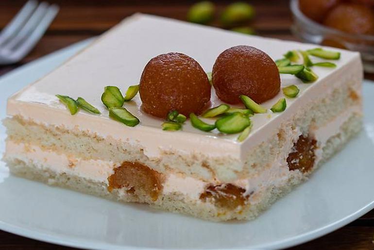 Gulab-Jamun Pastry