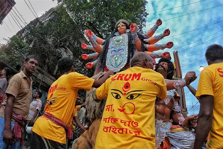 Drive-In Durga Puja Kolkata