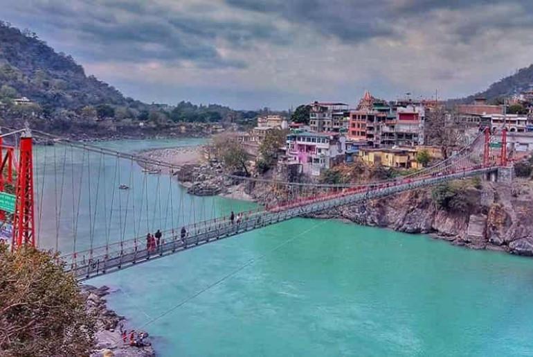 Laxman Jhula bridge Rishikesh
