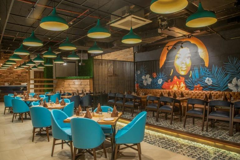 Delhi Restaurants Social Distancing Dining
