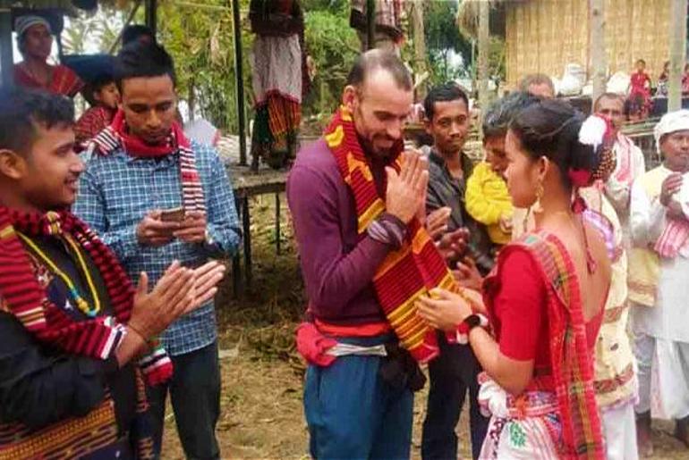 Spanish Man In Assam