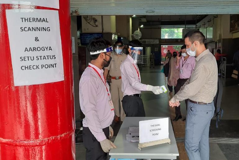 Delhi Metro Pandemic