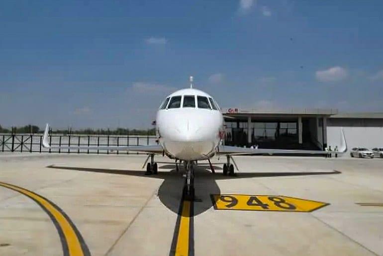 India's First Private Jet Terminal Delhi