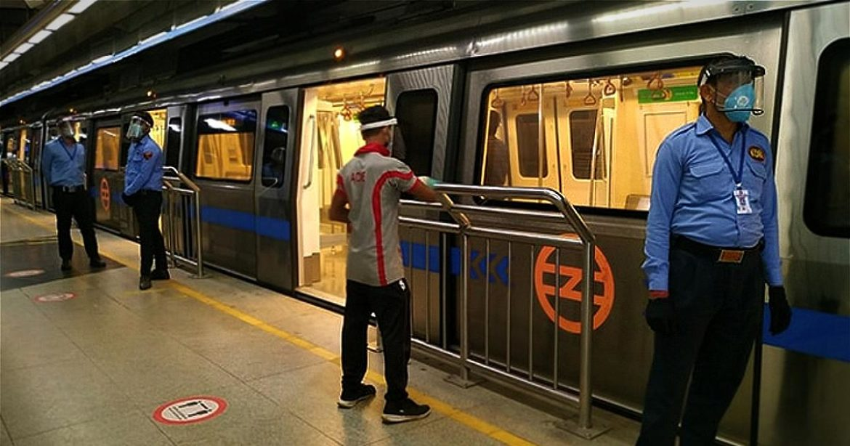Delhi Metro Fines People