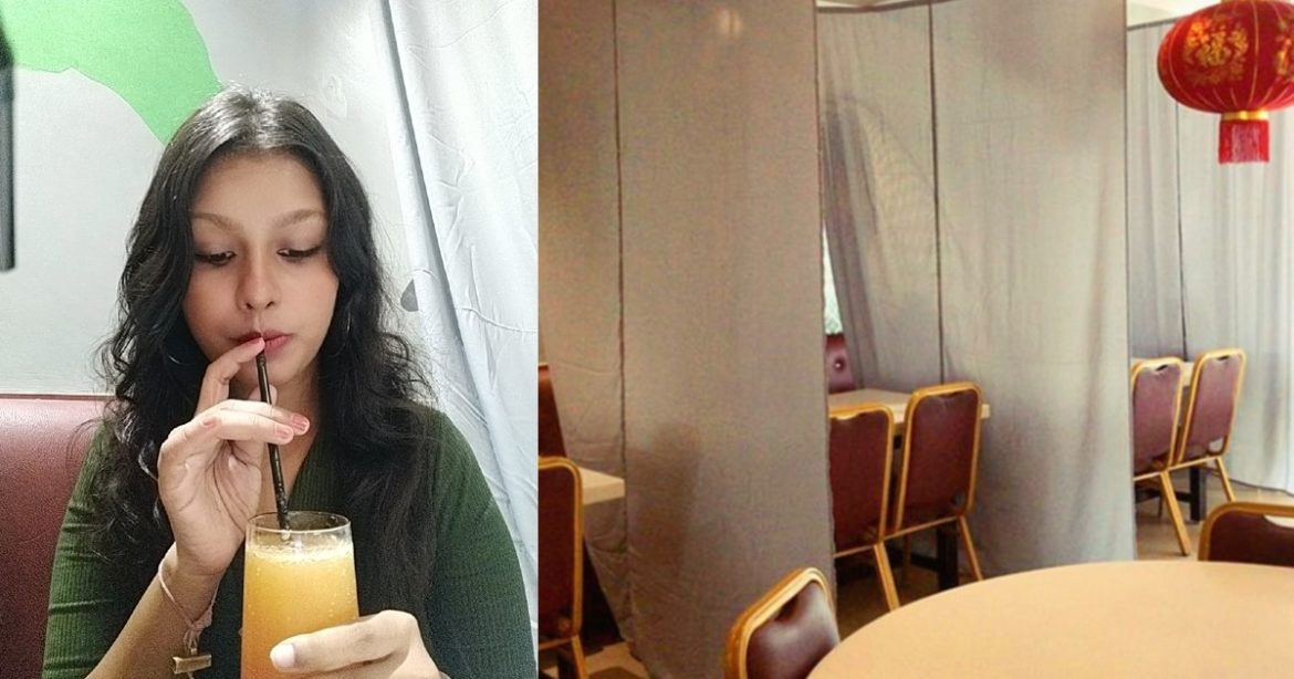 Curtained Booths Social Distancing