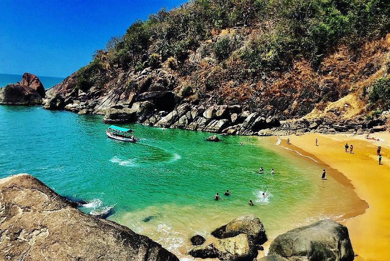 Little-Known Beach In South Goa
