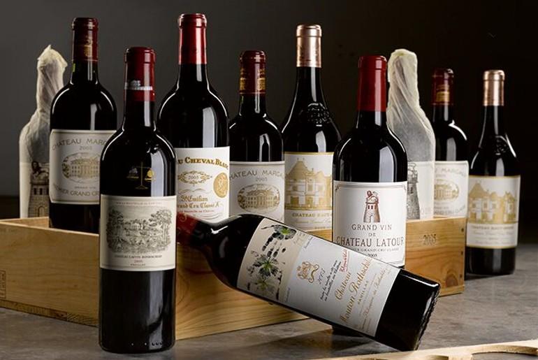 US restaurant wine