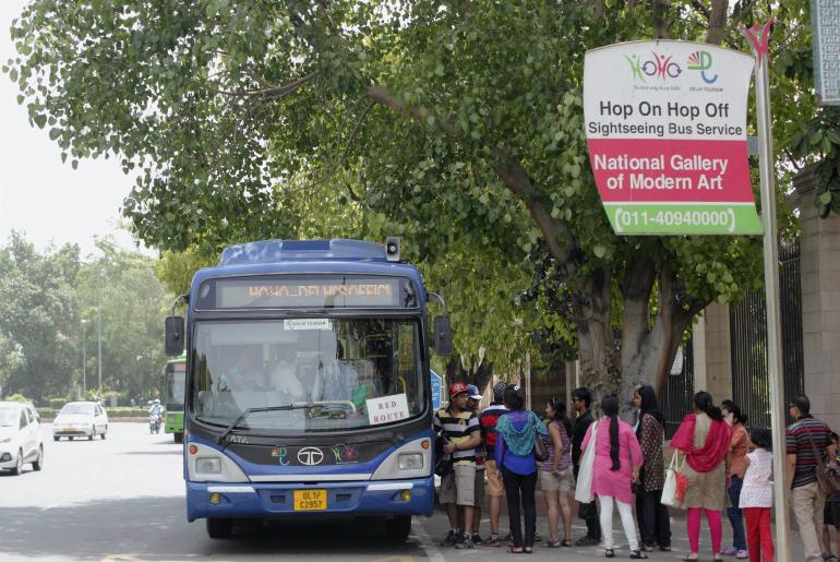 Delhi Hop-On Hop-Off Buses