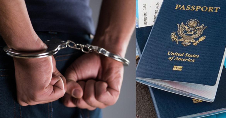 Indian Man USA Forged Passport