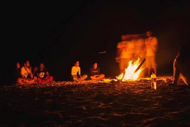 Beach-Facing hostel Gokarna