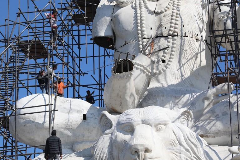 Nepal's Tallest Lord Shiva Idol