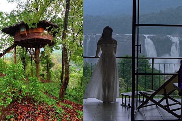 Treehouse Kerala Athirappilly Waterfalls